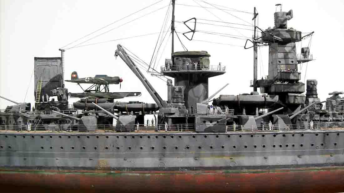 German battleship admiral graf spee 1:350 premium edition.