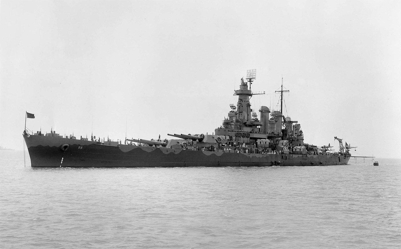 North Carolina >> USS North Carolina (BB 55)